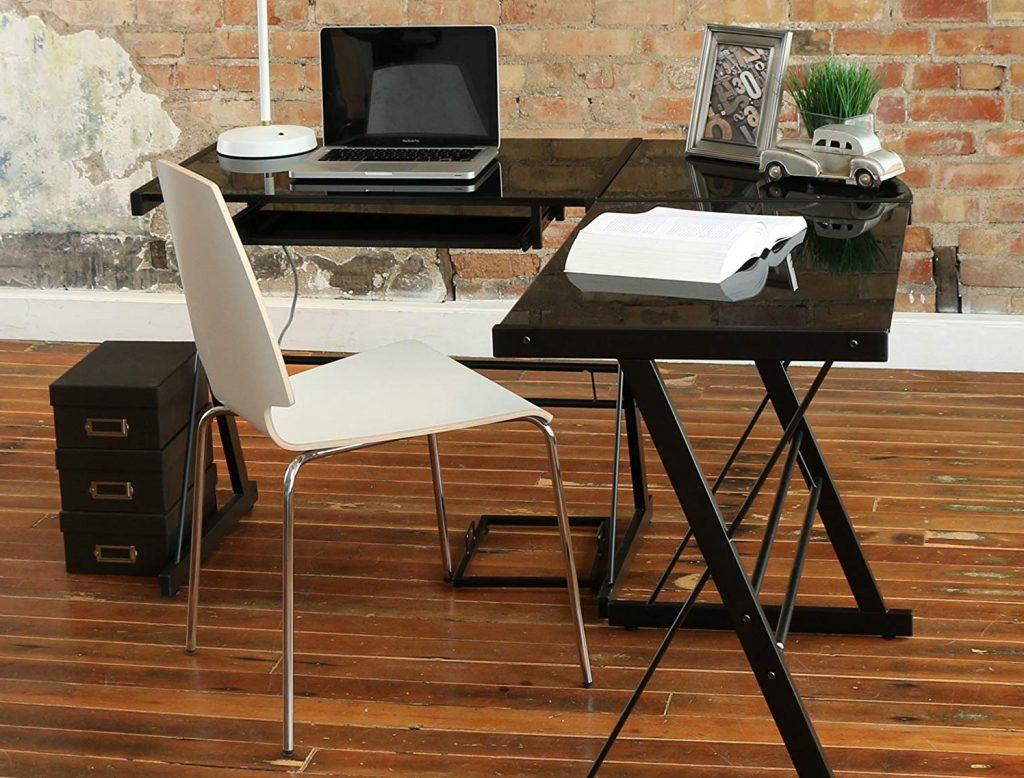 Walker Edison AZ51B29 Soreno 3-Piece Corner Desk